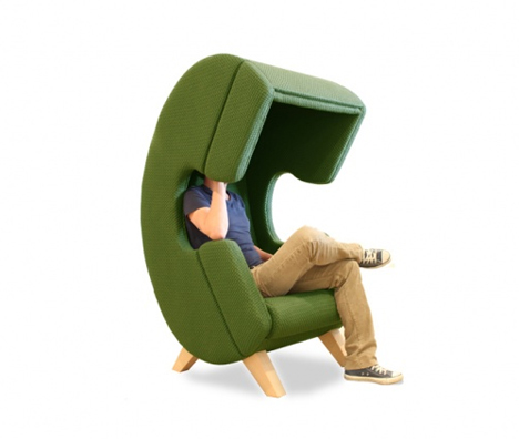 phone call privacy chair