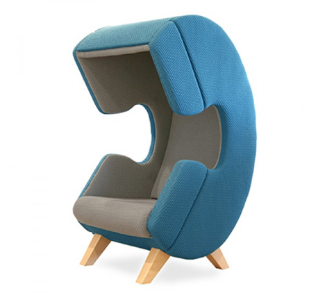 Good The Firstcall Chair Is Shaped Like An Old Fashioned Phone Handset,  Immediately Forming A Visual Connection Between The Chair And Its Purpose.