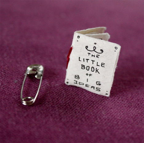 size of tiny book