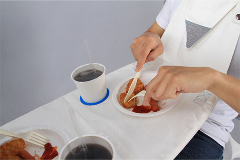 surface napkin table