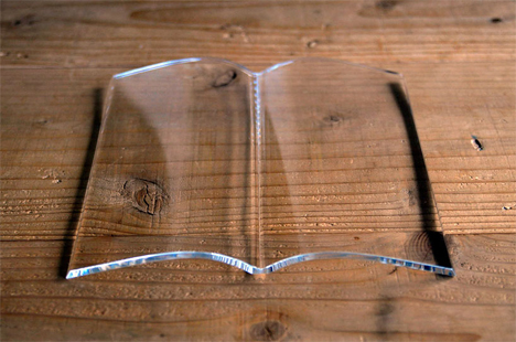 weight that holds book open