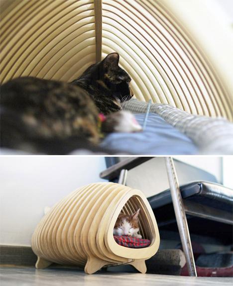 Fishbone Pet House 3