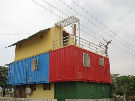 India's first shipping container home