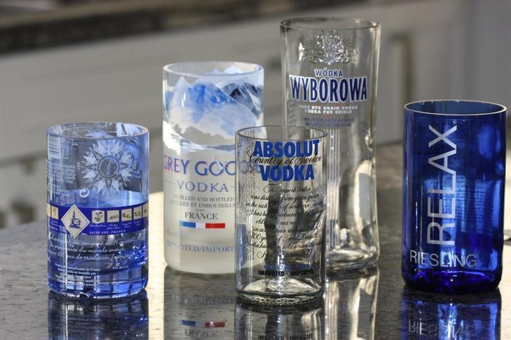 Cutting Tool Turns Bottles into Glasses