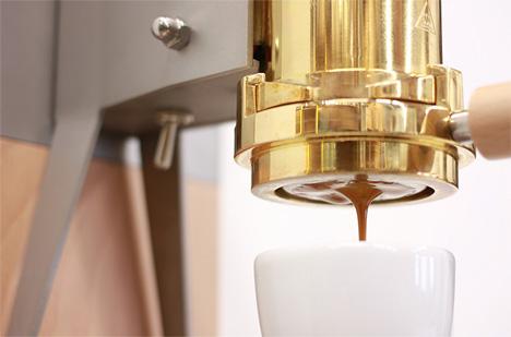 Midcentury Modern Lever Espresso 3