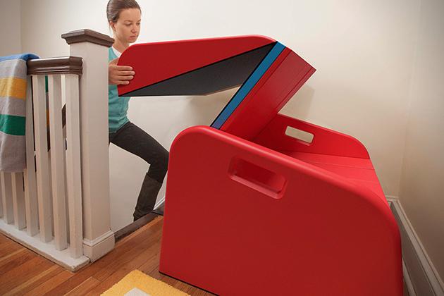 Kit Transforms Your Staircase Into A Slide Designs Ideas On Dornob