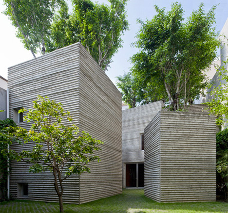 Tree Topped Houses Vietnam 1