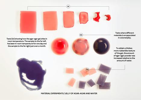agar jelly materials experiment