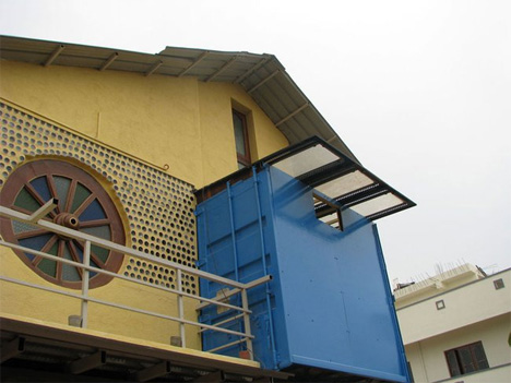 bangalore india shipping container home