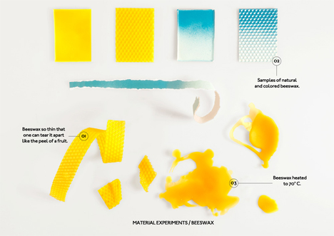 beeswax material study