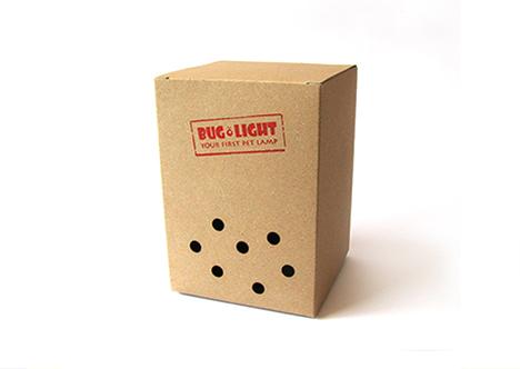 bug light breathing holes box