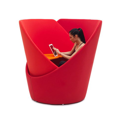 campeggi tuttomio swiveling privacy chair