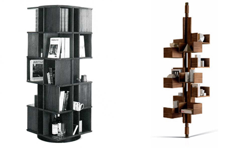 Classic Rotating Modular Bookcase Gets a Modern Update | Designs