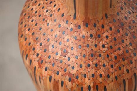 close up of amalgamations vase