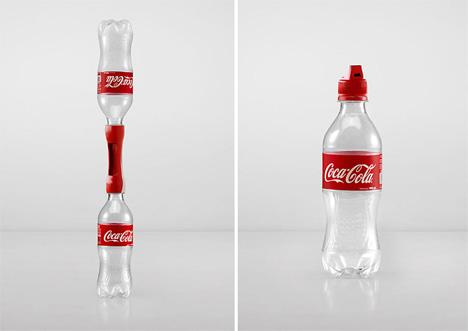 Sharing Fun: Novel Coke Caps Transform Empty Bottles