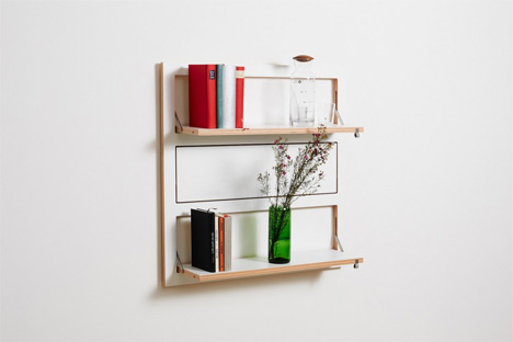 Modular Wall Storage System is Totally Flapping Unique