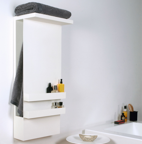 Warm Fuzzies: Elegant Sculptural Bathroom Towel Warmers