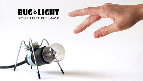 mini ant bug light