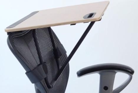 office chair back standing desk