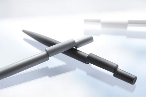 offset ink pen align