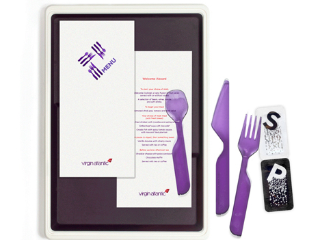 redesigned meal trays virgin atlantic