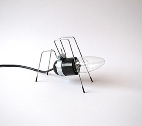 spider bug light
