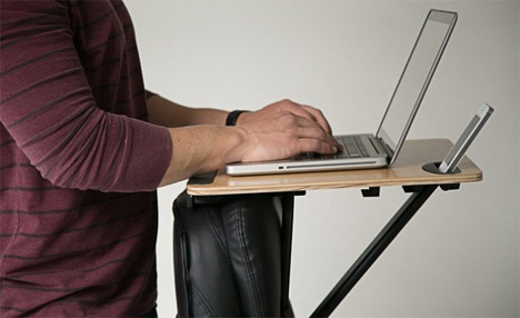 StorkStand May Be the Simplest Standing Desk Ever Designed
