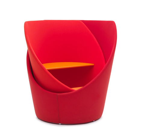swivel privacy chair