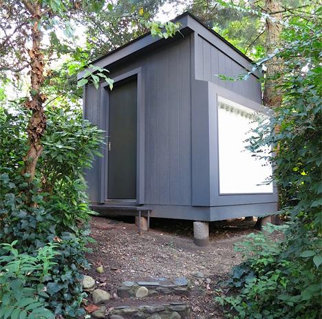 tiny house study space