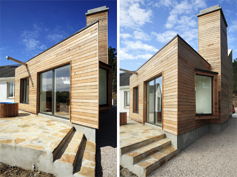 Picturesque Irish Home Gets A Natural Modern Extension