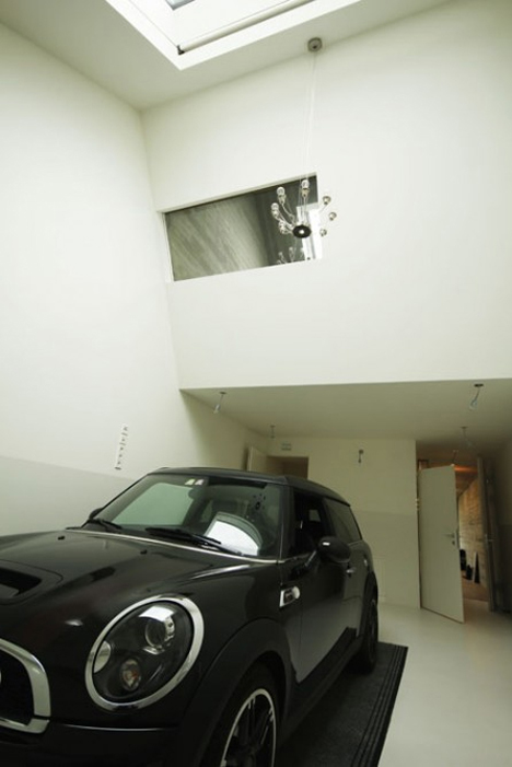garage or studio space