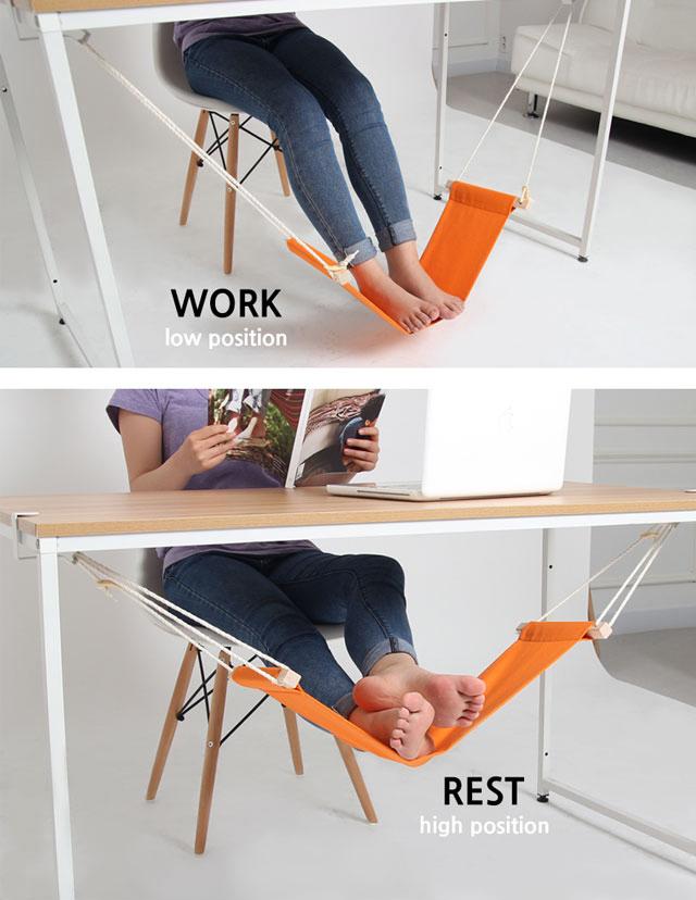 adjustable hammock footrest