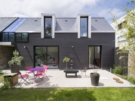 backyard extended house