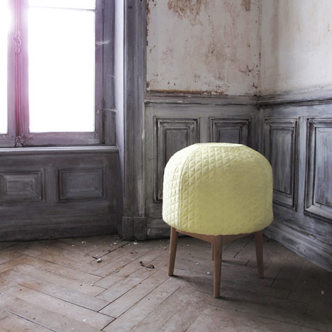 christine bounce stool