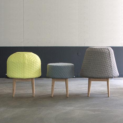 cushiony bounce stools