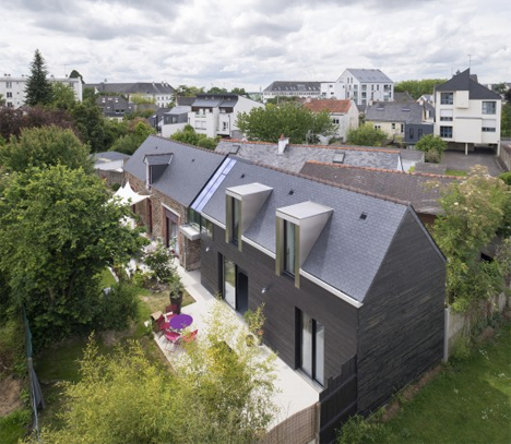 house between addition