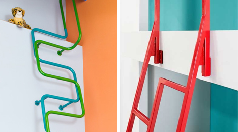 kidslofty ladders safety features