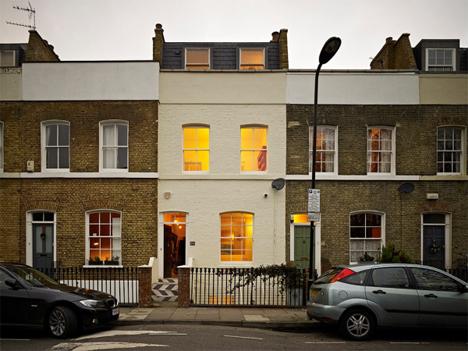 london terrace house remodel