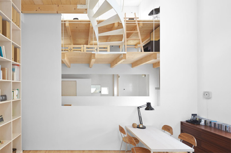 office and lofts case house