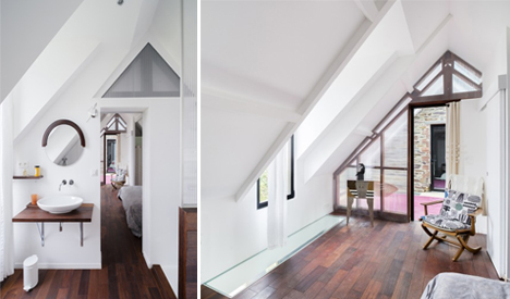 pitched ceilings addition
