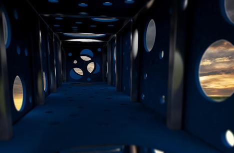 the maze interior