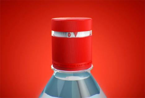 vittel refresh water bottle cap