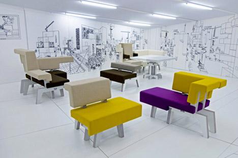Modular Work Sofa 4