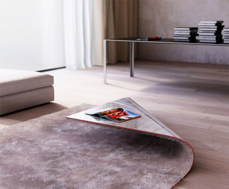 Rug Corner Coffee Table 1