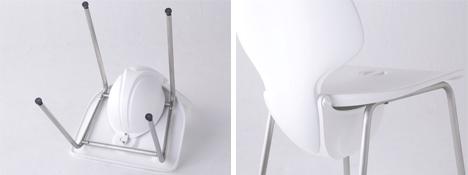 chair becomes earthquake protection helmet
