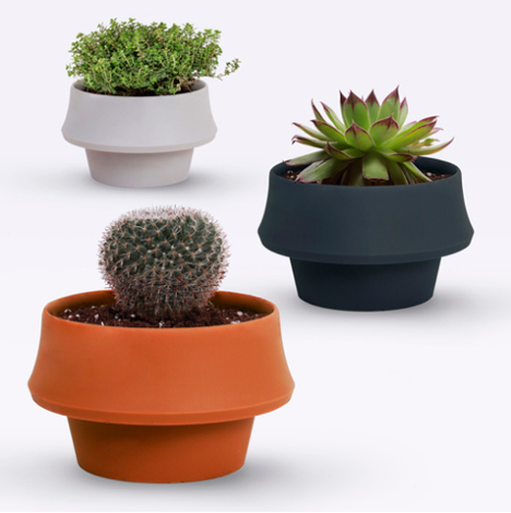 Flexible Pot Expands To Accommodate Growing Houseplants