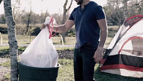 glad festival tent trash bags