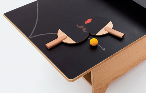 ping pong table coffee table