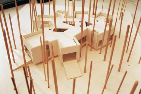 podkowa house model