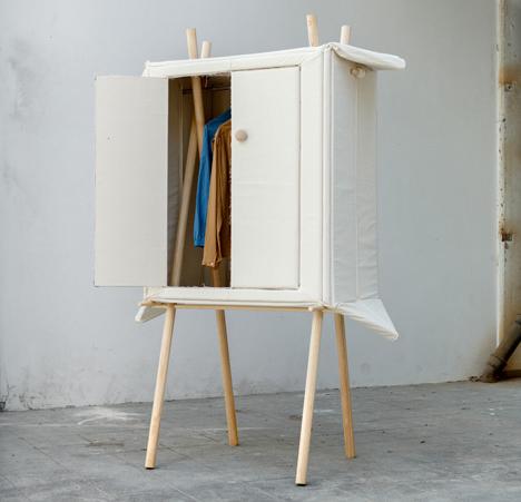 pop up linen wardrobe